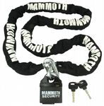 Mammoth Security - 10mm Square Lock and Chain